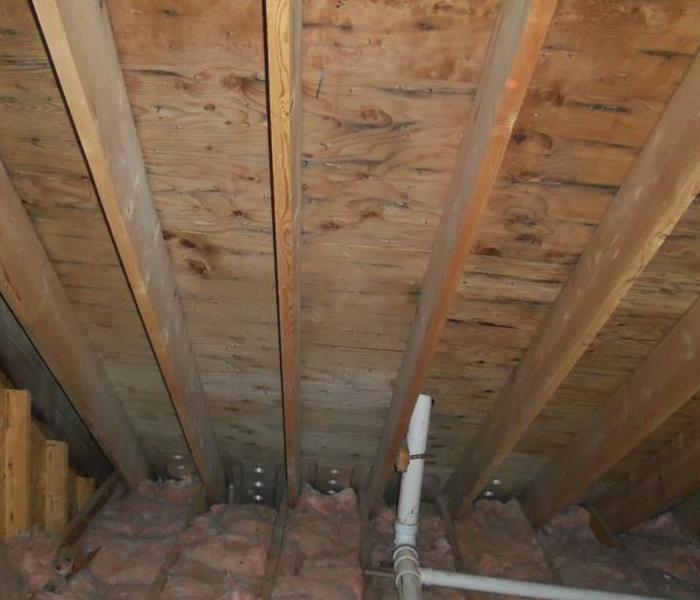 Attic Mold North Reading, MA After